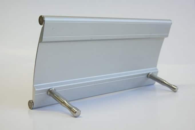 Objektbeschilderung - System Primus Tischaufsteller