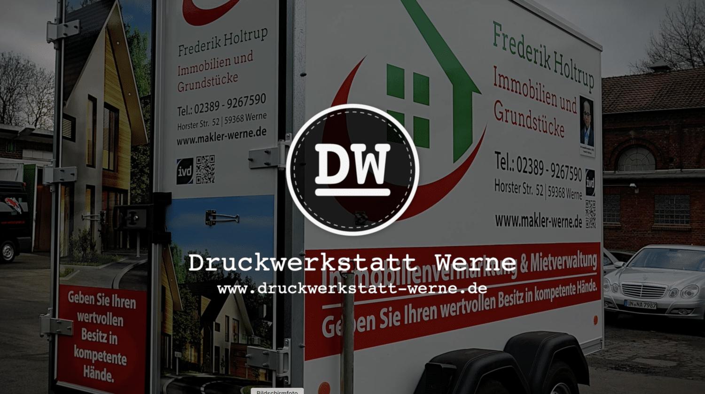 Fahrzeugbeschriftung Böckmann Anhänger
