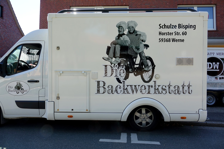 Fahrzeugbeschriftung Verkaufswagen